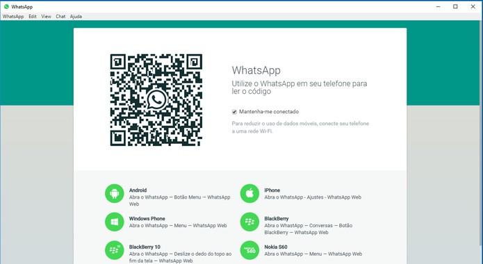 WhatsApp Desktop tem compatibilidade com o sistema e menos travamentos (Foto: Reprodução/Barbara Mannara)