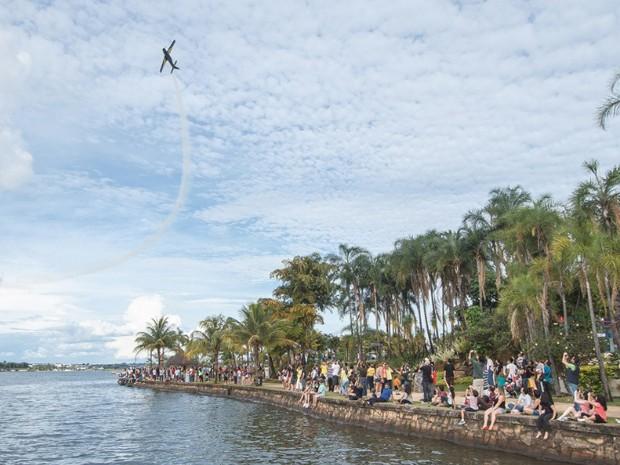 31/03/2013 -  Esquadrilha da Fumaça se despede de aviões 'Tucanos' em Brasília