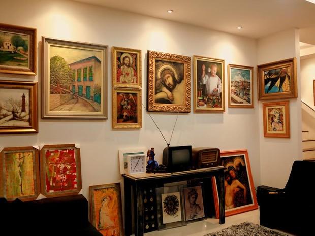 exposição, arte sacra, artes plasticas, Macapá, Amapá (Foto: Augusto Leite/ Arquivo Pessoal)