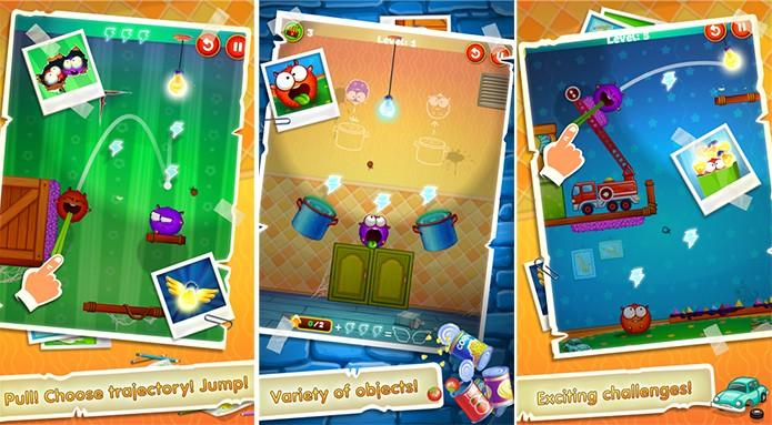Lightomania é um divertido game onde você deve arremessar criaturinhas (Foto: Divulgação/Windows Phone Store)