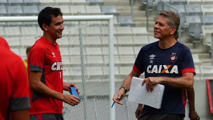 Paulo Autuori Atlético-PR Pablo (Foto: Monique Silva)
