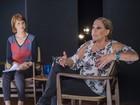 No Ofício em Cena, Susana Vieira relembra José Wilker: 'Melhor marido'