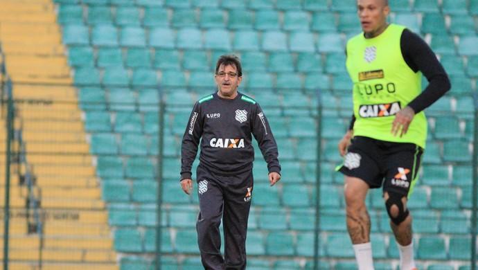 René Simões Figueirense (Foto: Luiz Henrique/Figueirense F.C.)