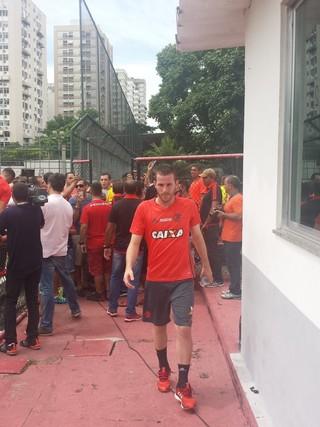 Flamengo - Paulo Victor (Foto: Raphael Zarko)