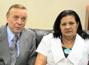 José Roberto Marin e Rosilene Gomes (Foto: Divulgação / CBF)