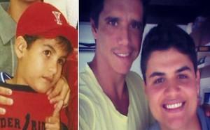 Pedro Lucas - antes e depois