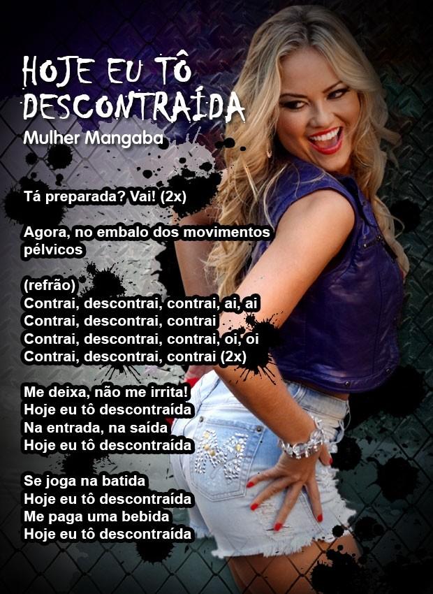 Letra clipe novo (Foto: Sangue Bom/TV Globo)