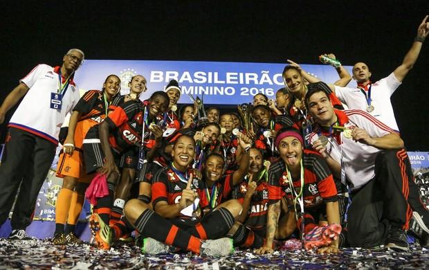 Flamengo levou o Campeonato Brasileiro feminino em 2016