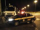 PRF detém caminhões responsáveis por mais de 500 infrações em rodovia