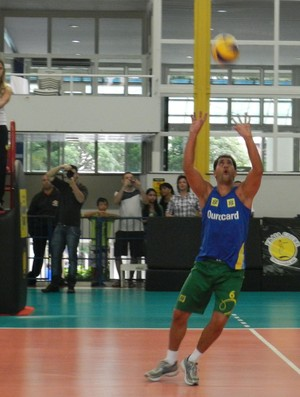 Maurício embaixadores do esporte Uberlândia (Foto: Felipe Santos/GLOBOESPORTE.COM)