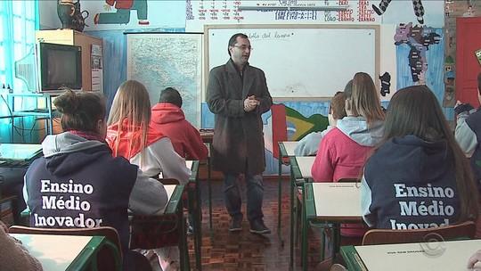 Escola de SC é selecionada para intercâmbio com estudantes da Itália