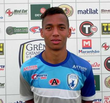 Zé Mateus, volante, Palmeiras, sub-20, Catanduvense, Copa Paulista (Foto: Divulgação / Ca)
