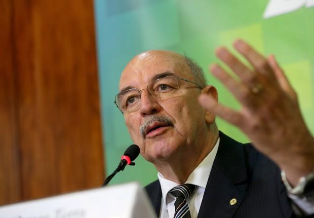 O ministro do Desenvolvimento Social e Agrário, Osmar Terra (Foto: Wilson Dias/Agência Brasil)