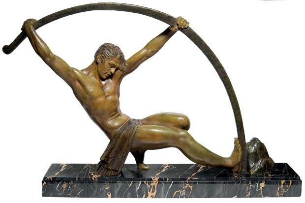 Escultura de bronze de Demetre H. Chiparus (Foto: divulgação)