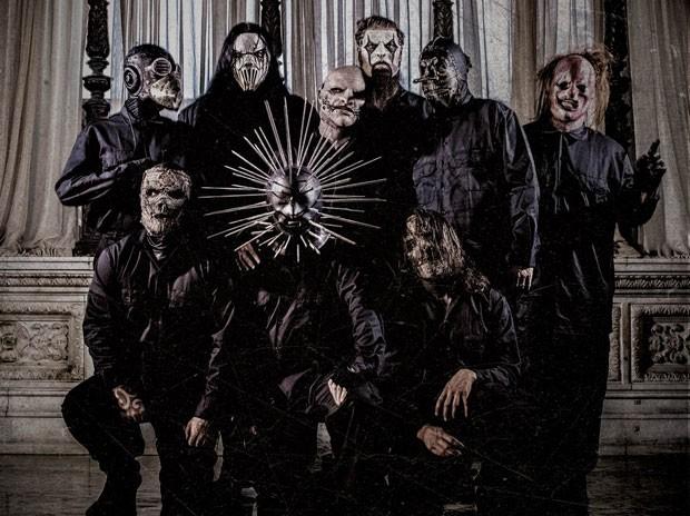 A banda Slipknot (Foto: Divulgação)