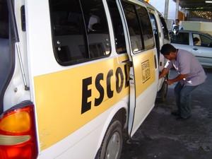 Transporte escolar (Foto: Assessoria de Comunicação/ Detran)