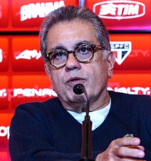 Carlos Miguel Aidar, presidente do São Paulo (Foto: Leandro Martins / Futura Press / Agência Estado)