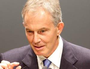 Tony Blair conversa com estudantes e professores brasileiros em São Paulo (Foto: Reuters)