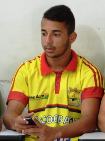 João Paulo, atacante Galvez-AC (Foto: Duaine Rodrigues)