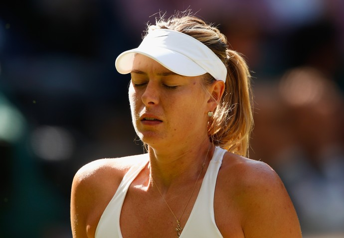 Maria Sharapova disputará pela primeira vez na carreira o qualifying de Wimbledon (Foto: Shaun Botterill//Getty Images)