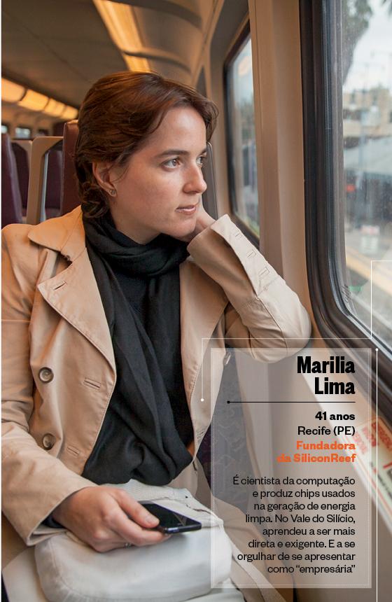 Marília Lima, Fundadora  da SiliconReef  (Foto: Peter DaSilva/ÉPOCA)