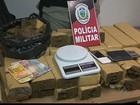 Polícia apreende mais de 40 kg de maconha na Grande João Pessoa