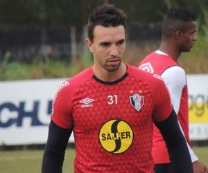 Guti Joinville zagueiro (Foto: João Lucas Cardoso)