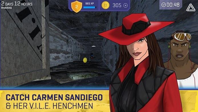 Novo Jogo de Carmen Sandiego é exclusivo para iOS (Foto: Divulgação / Houghton Mifflin Harcourt)