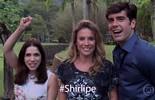 Shirlei e Felipe recebem conselhos do povão