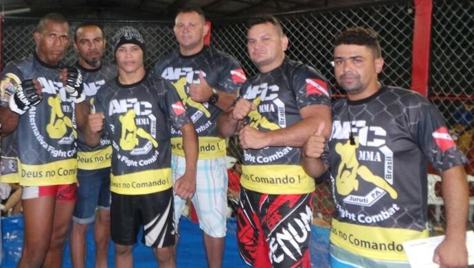 Atletas participantes do Óbidos MMA Championship (Foto: Divulgação/Acadêmia Muzenza)