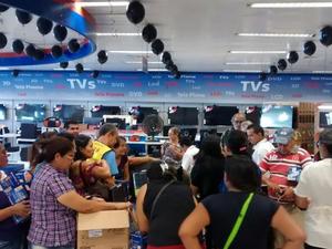 Movimentação nas principais lojas do Centro de Fortaleza não foi a esperada pelos empresários (Foto: Gioras Xerez/G1 Ceará)