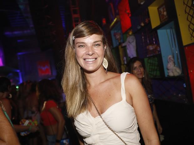 Letícia Birkheuer em festa no Centro do Rio (Foto: Felipe Panfili/ Divulgação)