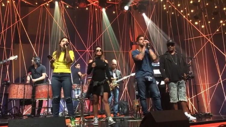 Msica Boa Ao Vivo - Babado Novo, Eva e Psirico (Foto: Multishow)