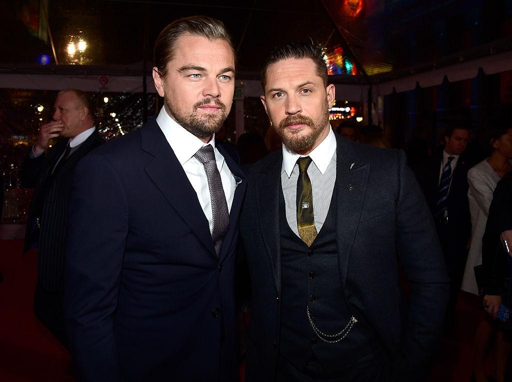 Leonardo DiCaprio e Tom Hardy (Foto: Getty Images)