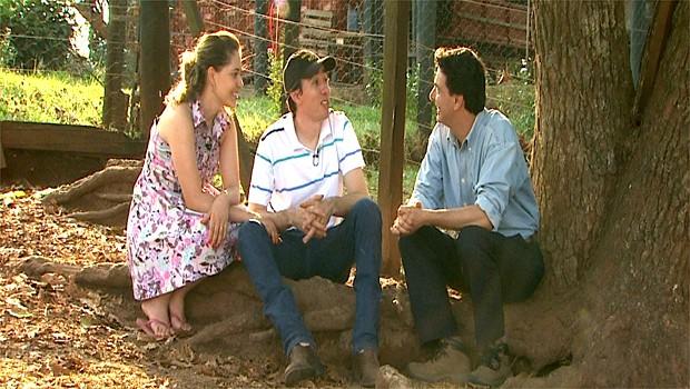 A identificação da vida no campo de um casal unido pela alma caipira (Foto: Reprodução EPTV)
