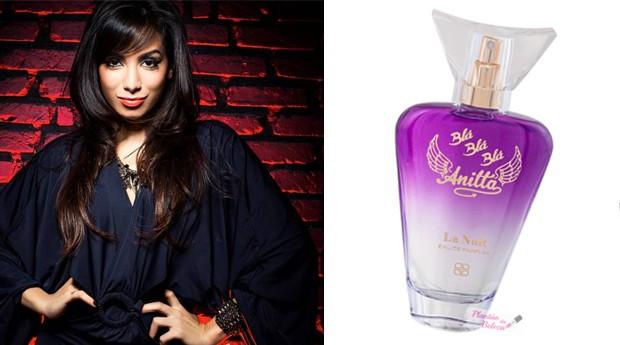 A Luxor é a responsável pela fabricação do perfume da cantora Anitta (Foto: Reprodução)