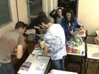 Estudantes universitários arrecadam doações para presas em Cruz Alta, RS