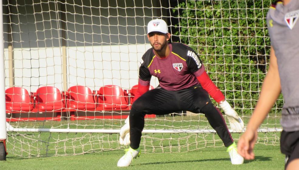 Renan Ribeiro será titular na partida de domingo, contra a Ponte Preta (Foto: Marcelo Hazan)