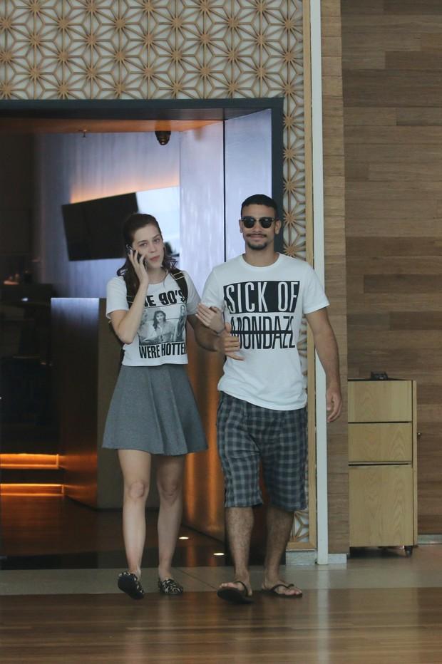 Sophia Abrahão e Sergio Malheiros (Foto: Fabio Moreno/Agnews)