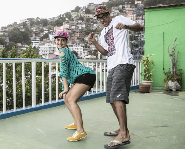 Não perca o requebrado da galera no funk deste Domingão! (Foto: Inácio Moraes / TV Globo)
