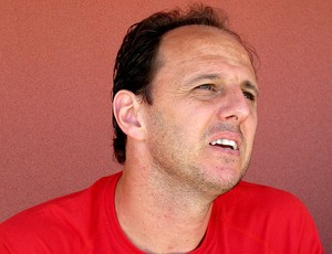 Rogério Ceni goleiro do São Paulo entrevista (Foto: Carlos Augusto Ferrari)