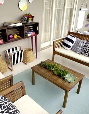 [Destaques] Varanda de apartamento: veja antes e depois das intervenções da blogueira Thalita Carvalho e inspire-se para decorar da sua área externa