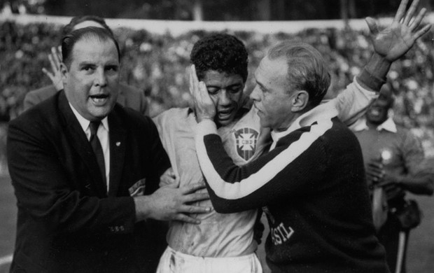 amarildo brasil x espanha copa do mundo 1962  (Foto: Getty Images)