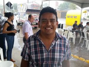 Professor Uilian Nogueira Lima alerta para o risco da PEC 241 à Educação (Foto: Toni Francis/G1)