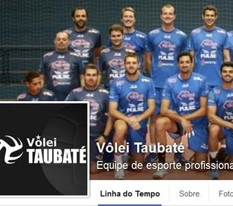 Facebook Vôlei Taubaté (Foto: Reprodução/ Facebook)