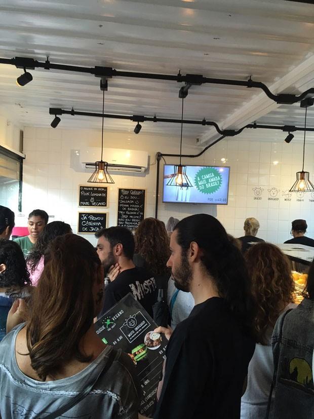 Depois do sucesso no Rock in Rio, Açougue Vegano inaugura em São Paulo (Foto: Lucas Tomaz Neves)