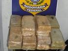 Homem que vinha da Bolívia é preso com 20 kg de pasta base de cocaína
