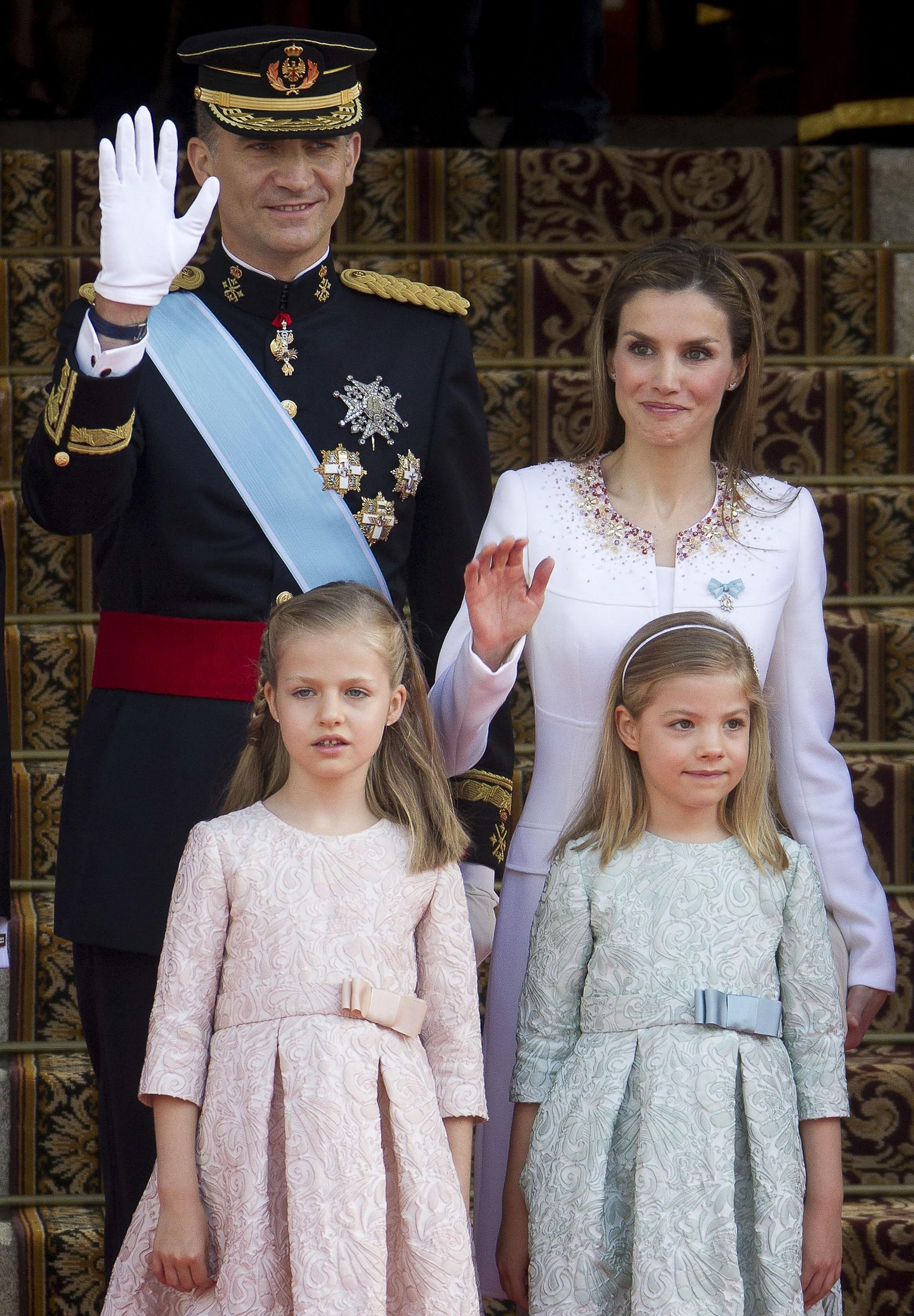 Família real espanhola (Foto: Getty Images)