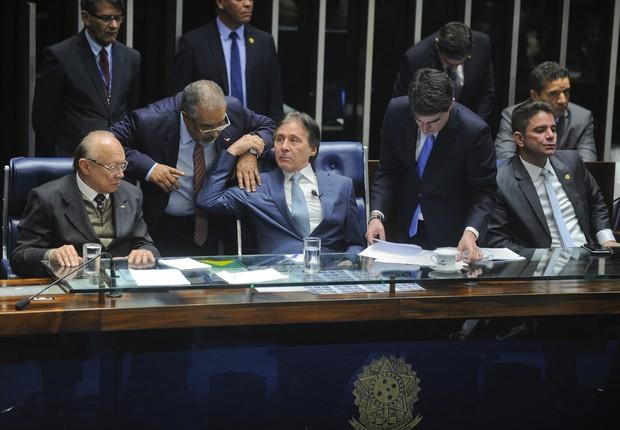 Eunício Oliveira - senado - reforma trabalhista (Foto: Marcos Oliveira/Agência Senado)