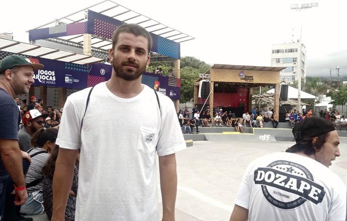 EuAtleta - jogos cariocas de verão skate bruno (Foto: Renata Domingues)